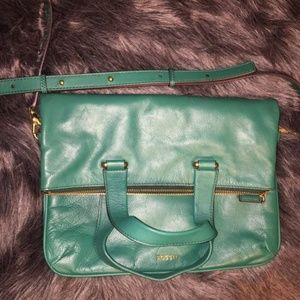NWOT Fossil Explorers Bag Green